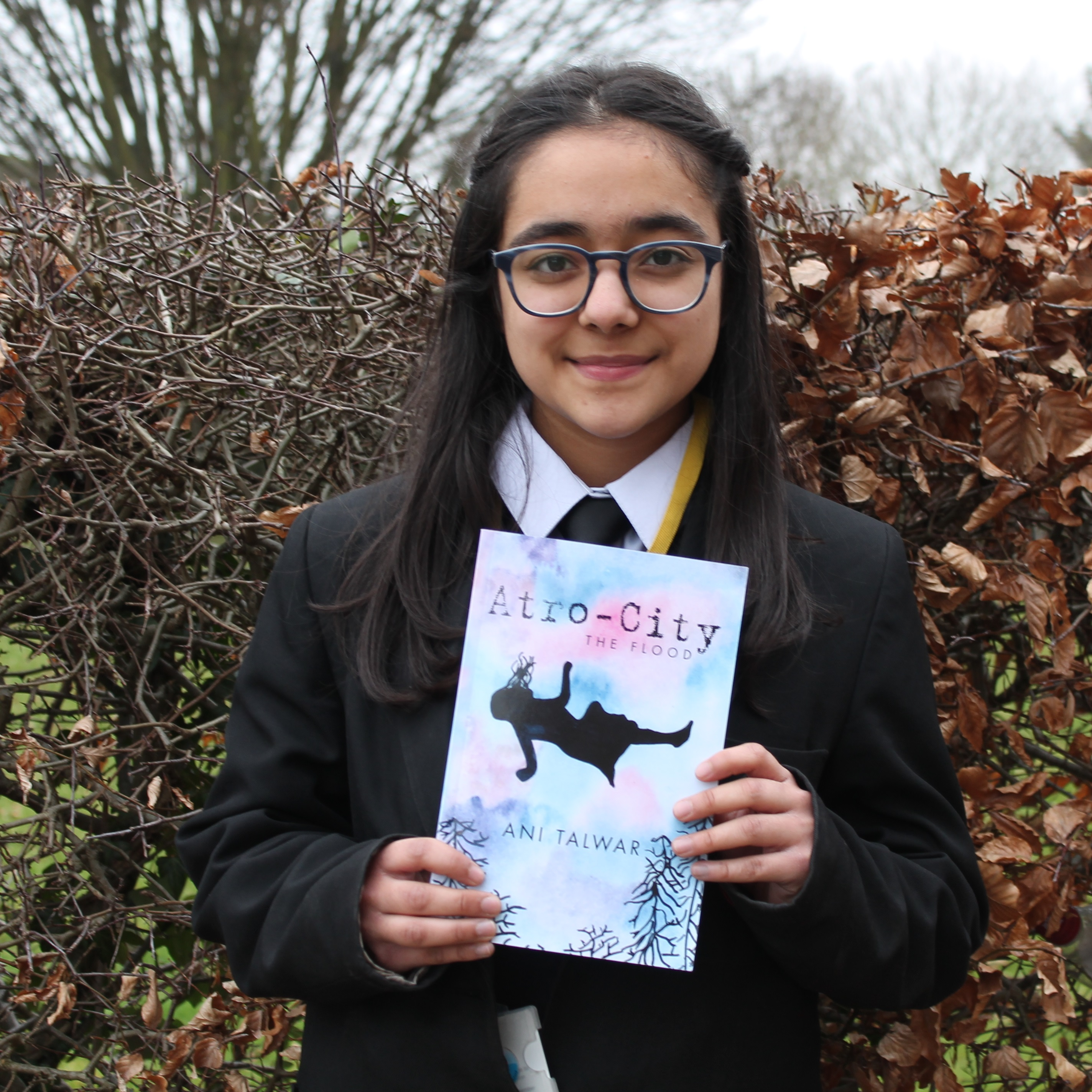 Meet young author of Atro-City